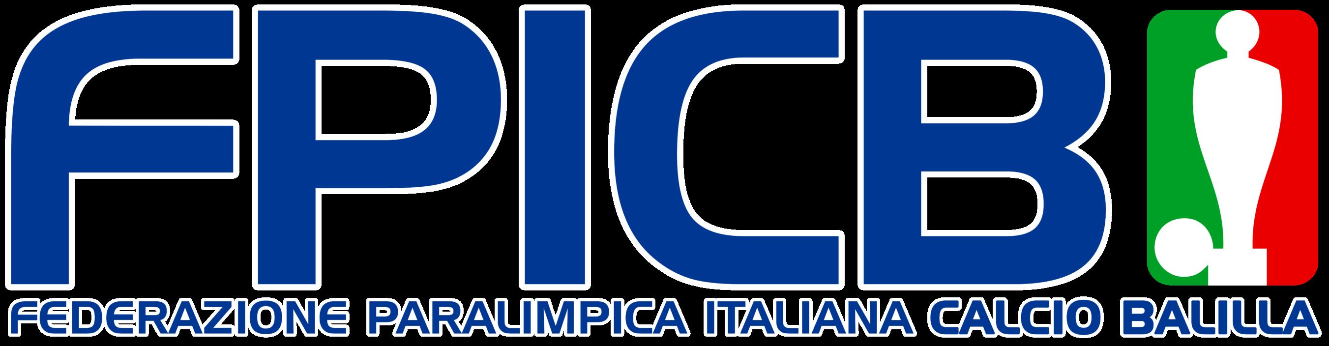 Logo Federazione Paralimpica Italiana Calcio Balilla