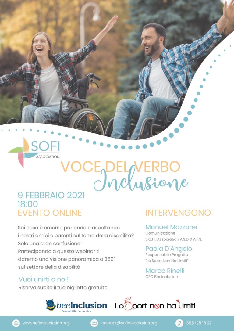 Locandina Voce Del Verbo Inclusione 9 febbraio